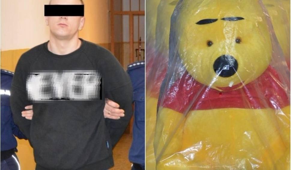 Film do artykułu: Krasnystaw. Ukradł pluszowego Kubusia Puchatka (ZDJĘCIA)