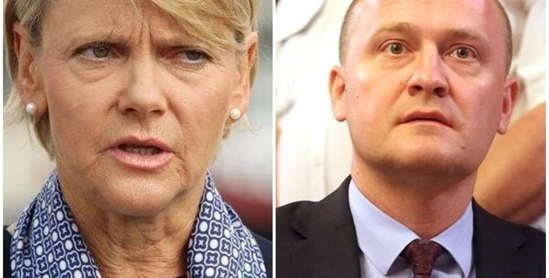 Piotr Krzystek i Małgorzata Jacyna-Witt to na razie jedyni pewniacy w wyborczym wyścigu