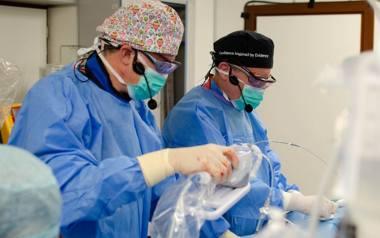 Kardiolodzy z SPSK 4 planują już kolejne operacje nieinwazyjnej naprawy zastawki mitralnej