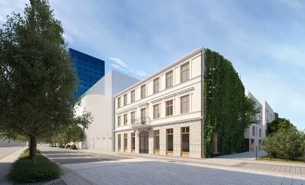 Remont obejmie nie tylko budynek frontowy, ale także pozsotałe zabudowania posesji.