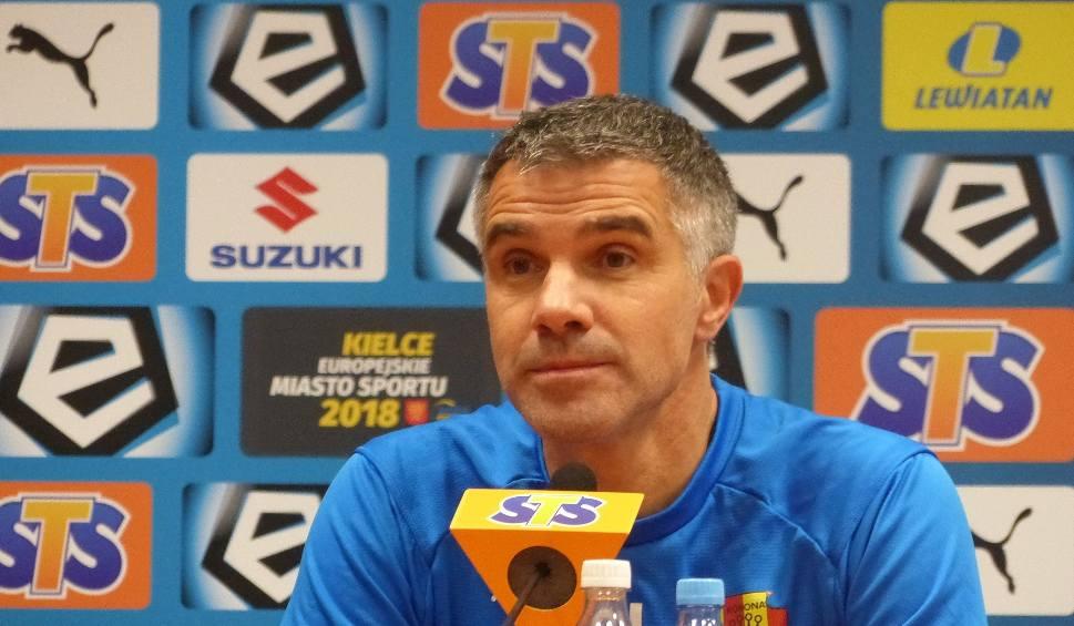 Film do artykułu: Lotto Ekstraklasa. Gino Lettieri, trener Korony Kielce: -My nie polujemy na żadnego piłkarza!