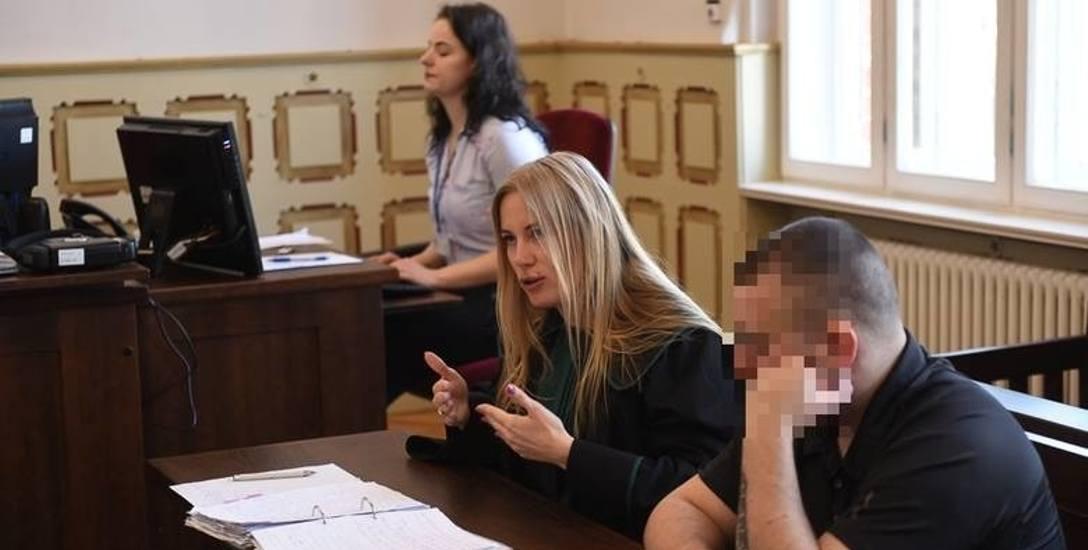 Adwokat Katarzyna Bórawska , broniąca Bartosza D., wniosła wczoraj o jego całkowite uniewinnienie