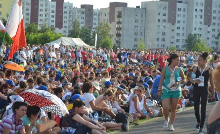 Światowe Dni Młodzieży: msza święta na Placu Papieskim w Sosnowcu [ZDJĘCIA]