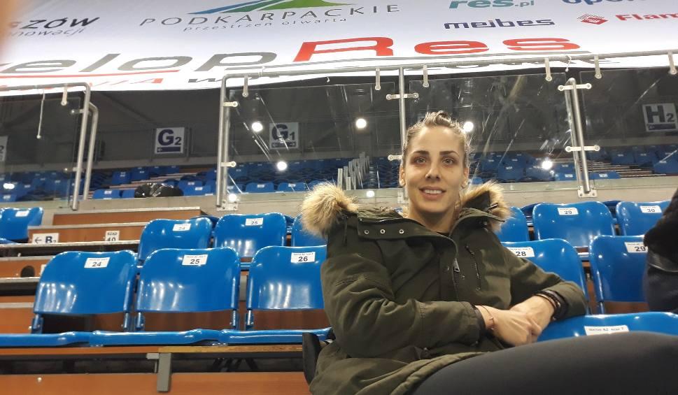 Film do artykułu: Tijana Malesević odwiedziła siatkarki Developresu Rzeszów na treningu [WIDEO, ZDJĘCIA]