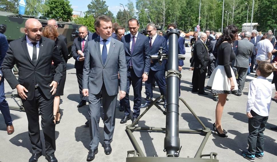 Film do artykułu: Minister obrony Mariusz Błaszczak wręczył medale pracownikom Huty Stalowa Wola
