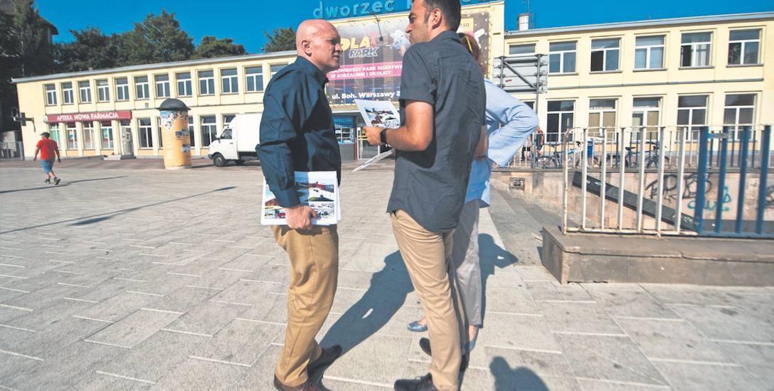 Opozycja ma wizję i chce przejąć budynek dworca