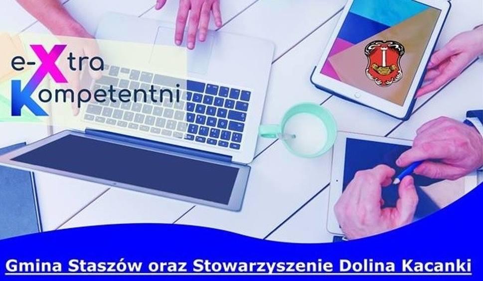 Film do artykułu: E-Kompetentni mieszkańcy Gminy Staszów. Można się zgłaszać do udziału w bezpłatnych szkoleniach [SZCZEGÓŁY]
