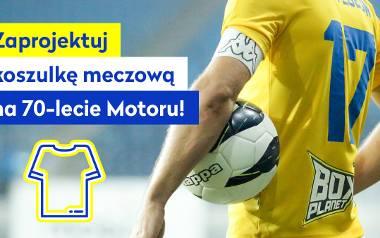 Motor Lublin urządził konkurs na projekt koszulki meczowej na 70-lecie klubu