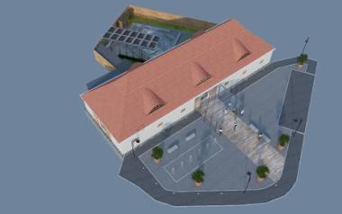 Wizualizacje Muzeum Odry w Nowej Soli