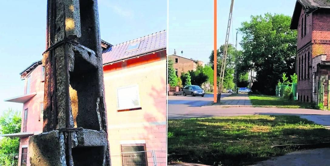 Przechylająca się coraz bardziej ku ziemi stara latarnia na ulicy Polnej za zostać wymieniona. Obiecała to Enea Oświetlenie