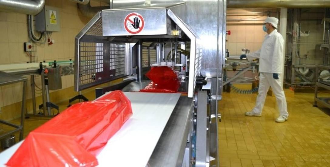 Mleczarnia ROTR produkuje m.in. żółte sery. Kiedyś sporo tego towaru sprzedawała do Rosji. Embargo zapoczątkowało problemy.