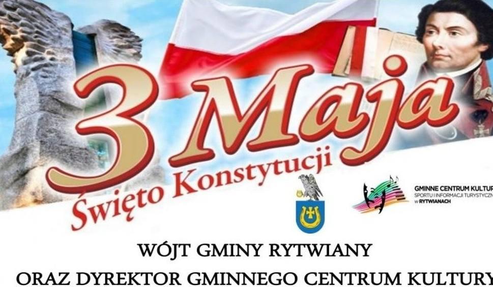 Film do artykułu: Uroczystości i przegląd pieśni patriotycznych 3 maja w Rytwianach. Zobacz program