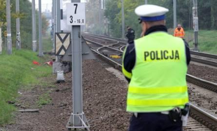 Śmiertelny wypadek na stacji Łódź Chojny. Mężczyzna potrącony przez pociąg towarowy