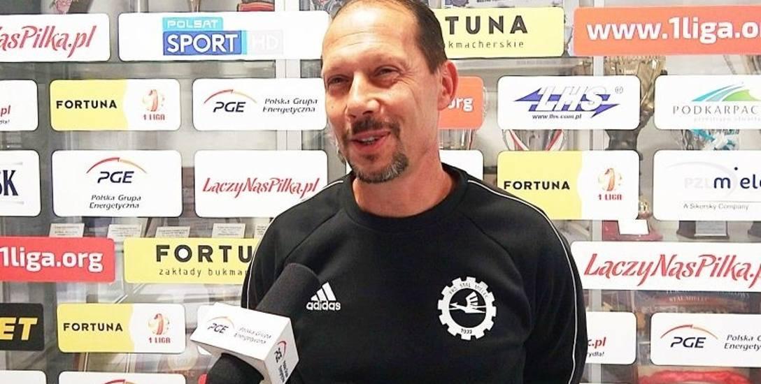 Dariusz Marzec, trener PGE Stali Mielec po porażce z Radomiakiem Radom: Można było zrobić więcej
