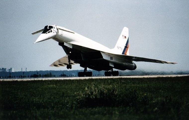 Concorde w roku 1977.
