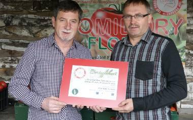 Rodzina Florków ze Służowa koło Buska zadziwia wyjątkową technologią produkcji pomidorów. Metody są