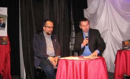 Spotkanie prowadzil Dawid Jung- z prawej.