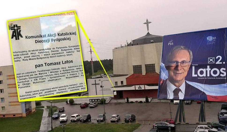 Film do artykułu: Prymas Polski swoje, a kościół swoje. Komunikat z poparciem dla Tomasza Latosa w kościelnej gablotce