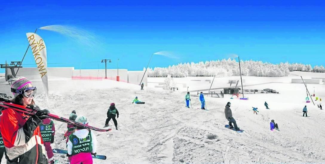 Trasa narciarska ma liczyć około 200 metrów. Nie będzie to stok, który zadowoli wytrawnych narciarzy, ale dzieciom i uczącym się jazdy na nartach w zupełności
