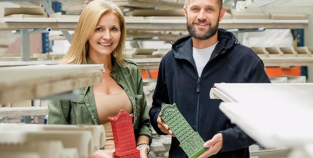 Każdy kafel jest zawsze niepowtarzalny i jedyny w swoim rodzaju - pokazują Sylwia i Rafał Karny
