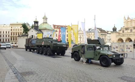 Pokaz sprzętu wojskowego na Rynku Głównym... w czasie ŚDM?