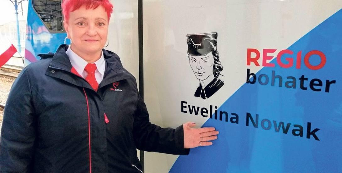 - Dobrze, że pamiętamy o bohaterach i przypominamy ich historię - powiedziała nam Dorota Klimkowska z Gryfic, kierownik pociągu w Przewozach Regiona