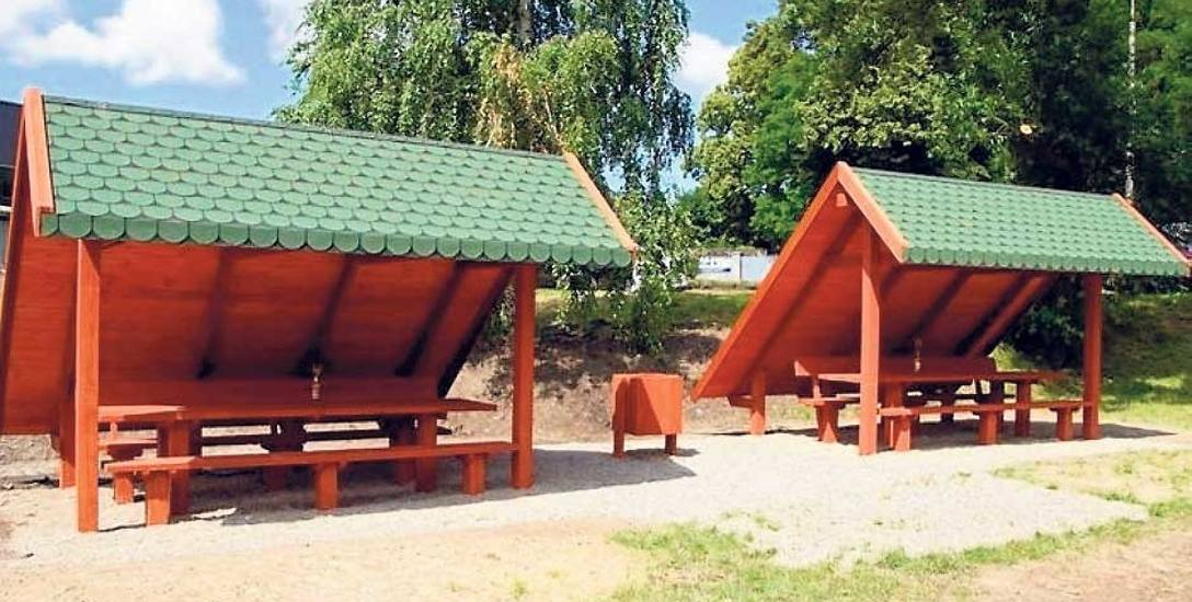 Nowa przystań dla kajakarzy znajduje się w pobliżu ulicy Gdańskiej, nad rzeką Wieprzą. Wybudowane zostały dwie wiaty, siedzenia oraz pomost