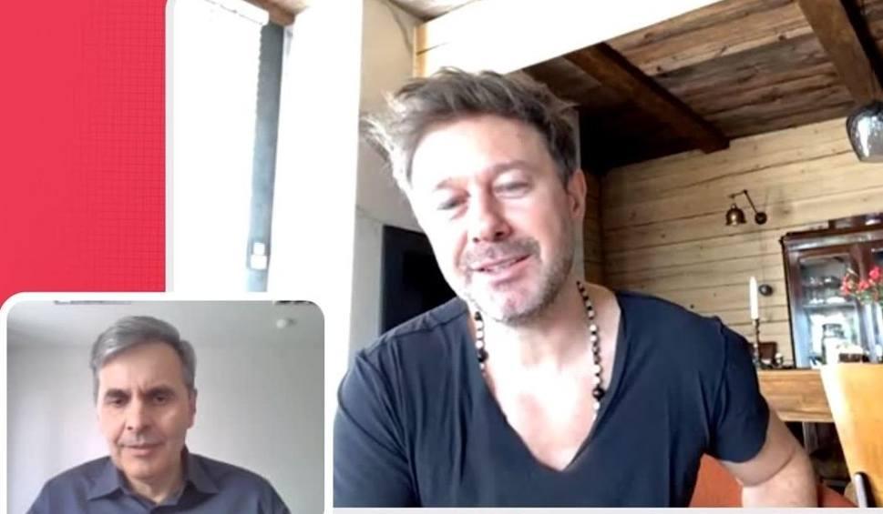 Film do artykułu: Andrzej Piaseczny mówi jak zdrowo żyć w czasach epidemii koronawirusa. Sam gotuje, ćwiczy jogę, spaceruje, słucha muzyki (WIDEO)