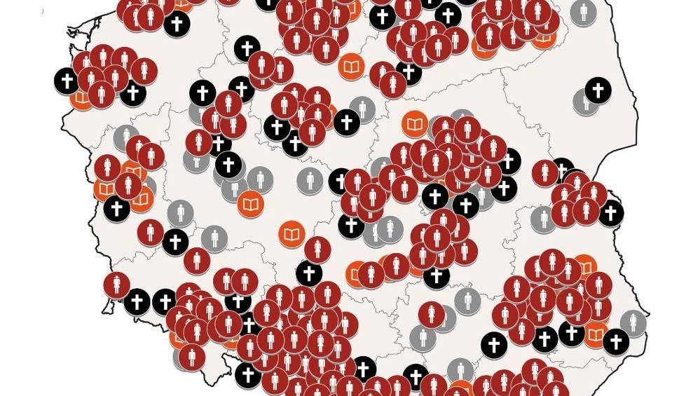 Film do artykułu: Mapa kościelnej pedofilii w Polsce 2019: Gdzie w polskim Kościele dochodziło do molestowania dzieci przez księży? [17.01 STYCZEŃ 2019]