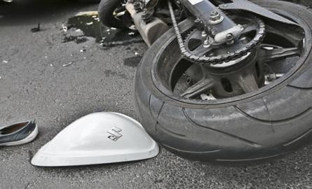 Do wypadku doszło w niedzielę (24 lipca) na drodze S3, między węzłem Kasprzaka a zjazdem w ul. Kostrzyńską w Gorzowie. Ranny motocyklista trafił do
