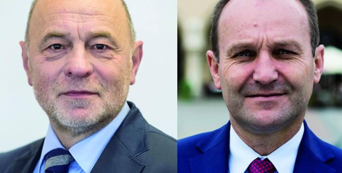Posłowie Sonik (z lewej) i Sowa nie chcą zmiany obecnej ustawy