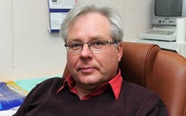 Doktor Piotr Pośpiech.