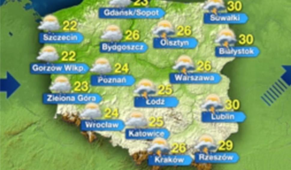 Pogoda We Wtorek 25 Sierpnia Kolejne Dni Coraz Cieplejsze Wideo