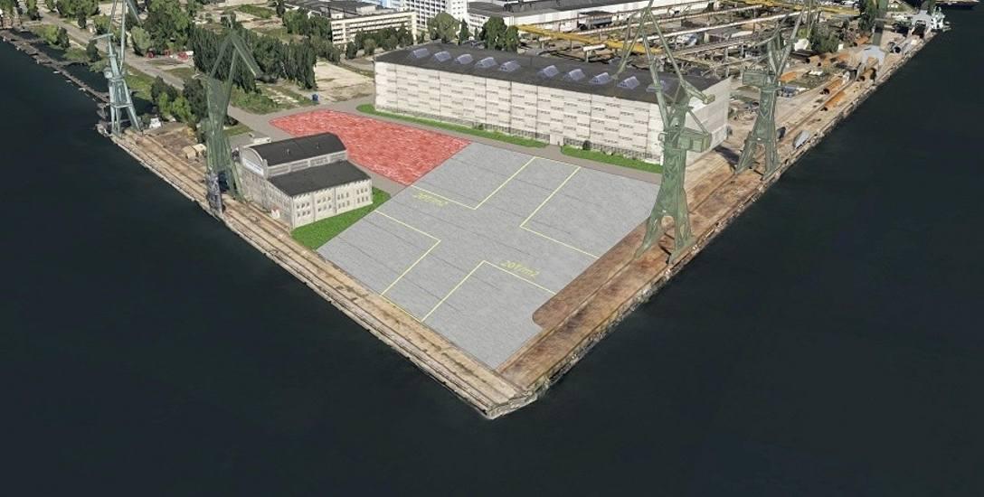 Na froncie Wyspy Ostrów, na nowej płycie montowane będą statki o długości nawet 180 m