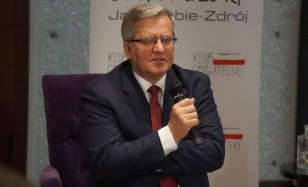 Bronisław Komorowski: Demokracja jest zagrożona