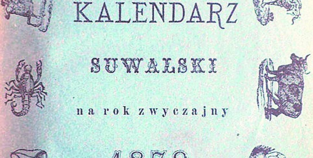Kalendarz Suwalski z 1879 roku