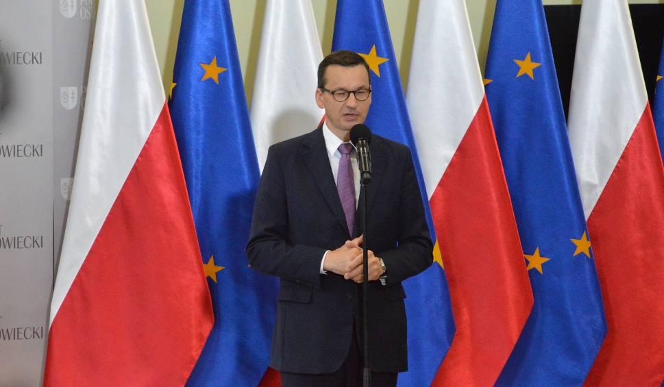 Film do artykułu: Premier Mateusz Morawiecki w Krzemionkach spotkał się z samorządowcami. Doszło do potężnej kompromitacji! [ZDJĘCIA]