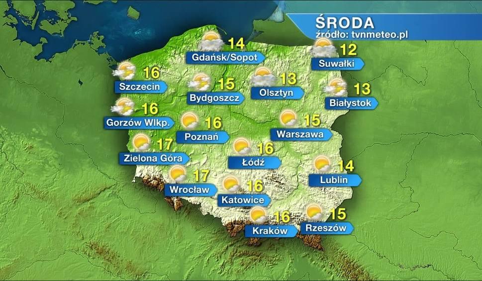 Film do artykułu: Środa z wiosenną aurą w całym kraju. Na Dolnym Śląsku termometry pokażą 17 stopni