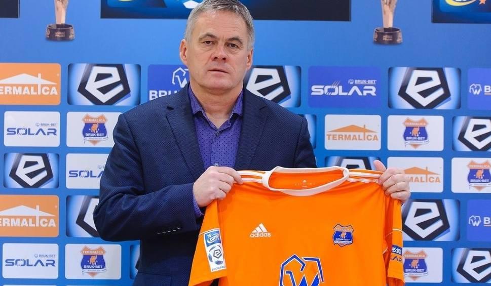 Film do artykułu: Jacek Zieliński został nowym trenerem Bruk-Betu Termaliki Nieciecza