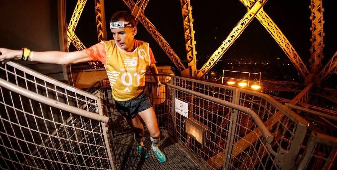 1655 schodów na Wieżę Eiffla pokonuje w niecałe osiem minut