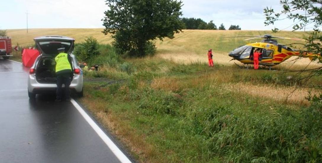 Ze wstępnych ustaleń świeckiej policji wynika, że przyczyną wypadku w Świekatowie było niedostosowanie prędkości do warunków panujących na drodze.