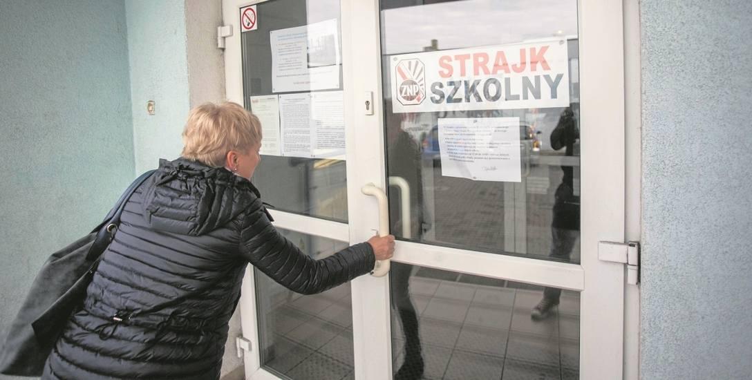 BYDGOSZCZ. Do strajku przystąpiło 46 placówek. - Walczymy o miejsca pracy i wynagrodzenia, ale również o dobro dzieci - mówi Mirosława Kaczyńska, prezes