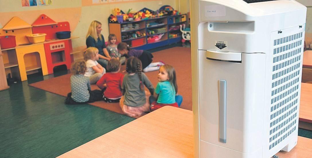 Takie urządzenia filtrują powietrze w żłobkach i przedszkolach w województwie małopolskim
