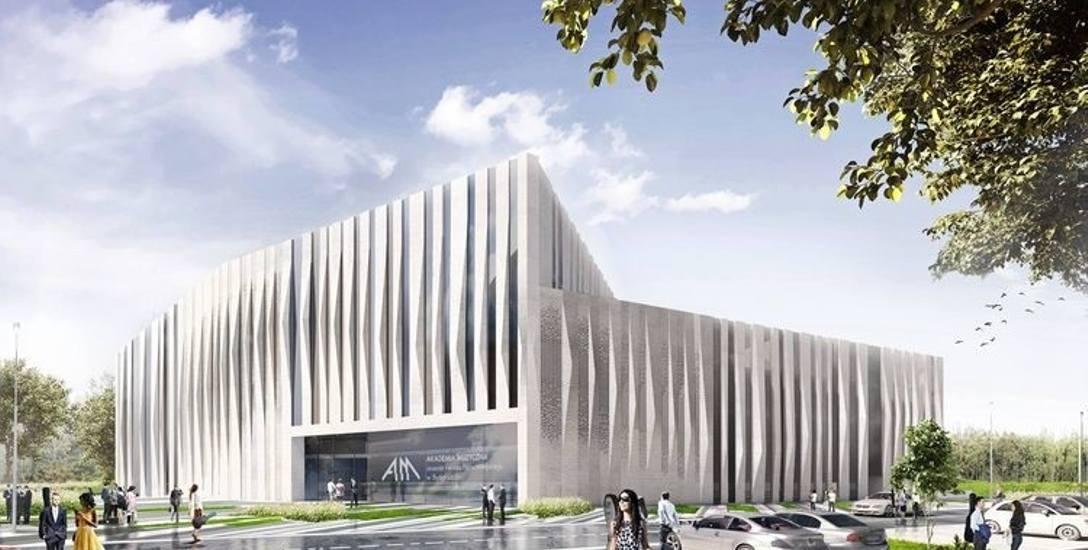 Tak ma się prezentować nowoczesny gmach kampusu Akademii Muzycznej w Bydgoszczy. Projekt budynku stworzyła  pracownia architektoniczna Plus3 Archite