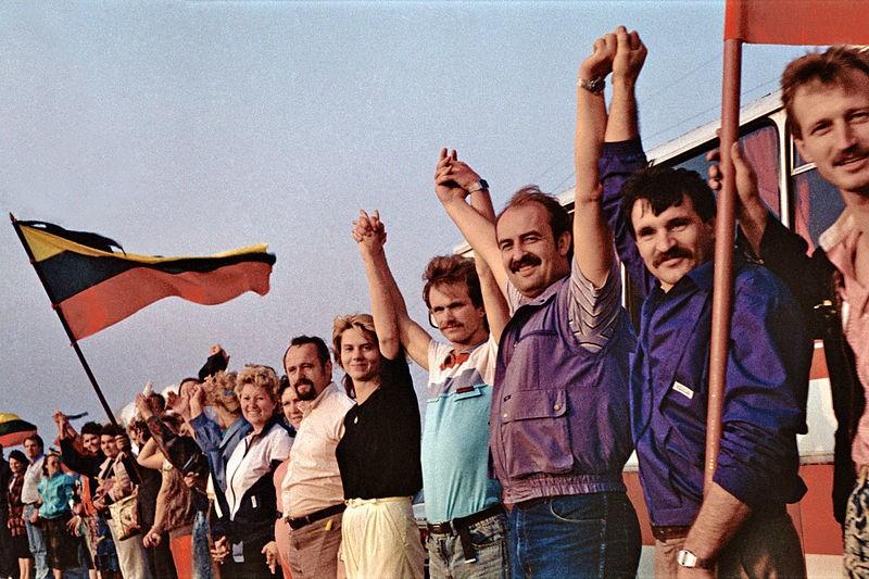 Bałtycki łańcuch był wyrazem protestu przeciwko ówczesnej sytuacji politycznej tych krajów wchodzących w skład Związku Radzieckiego