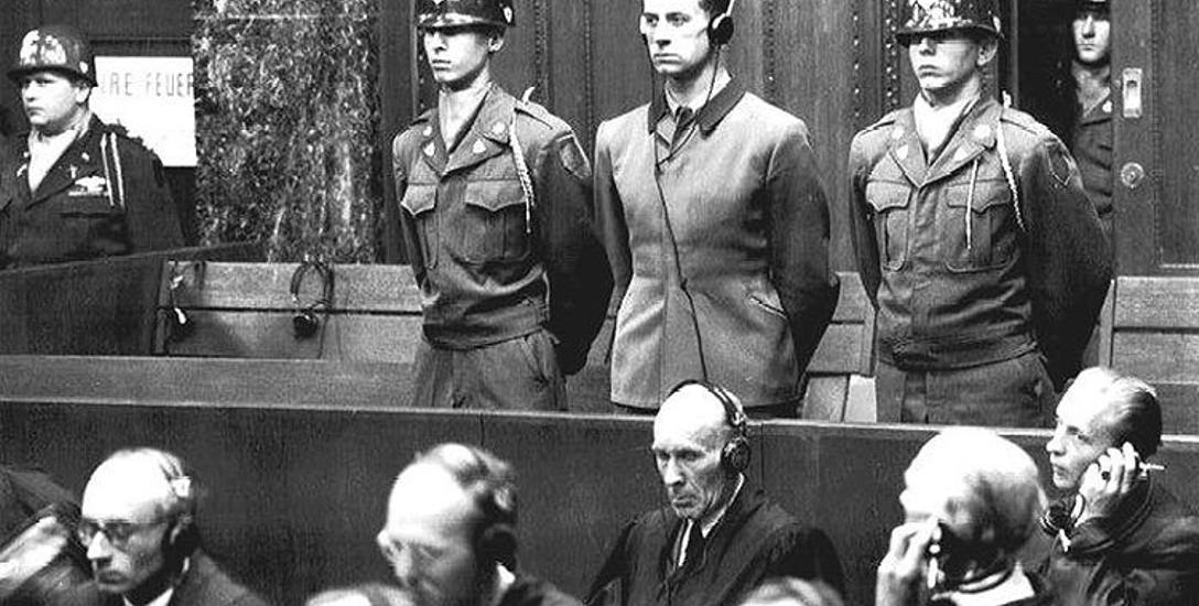 Dr Karl Brandt podczas procesu