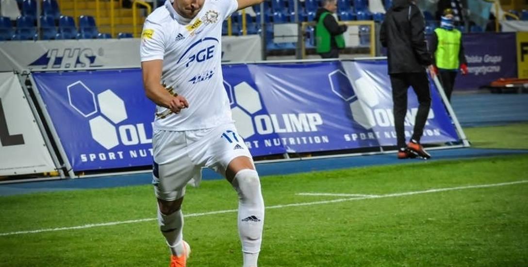 Bartosz Nowak, piłkarz PGE Stali Mielec, ma za sobą najlepszy rok w karierze.