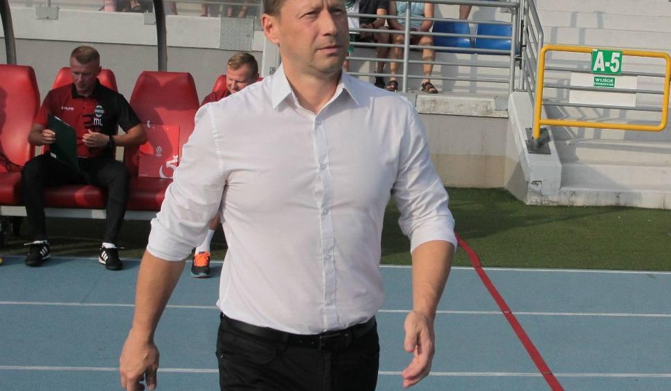 Film do artykułu: Radomiak Radom przegrał 0:1 z Olimpią w Grudziądzu. Sędzia podyktował trzy rzuty karne
