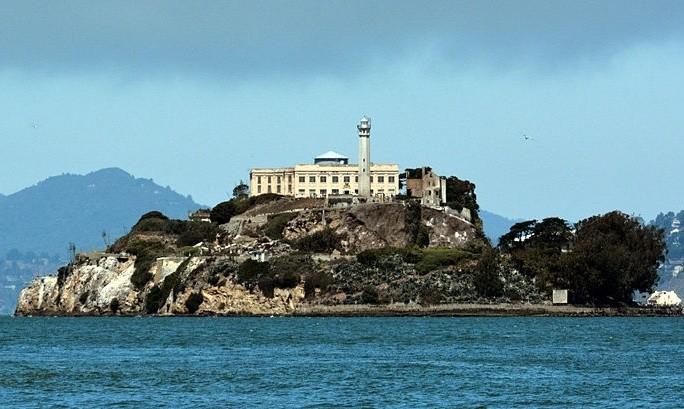 Alcatraz to wyspa w zatoce San Francisco