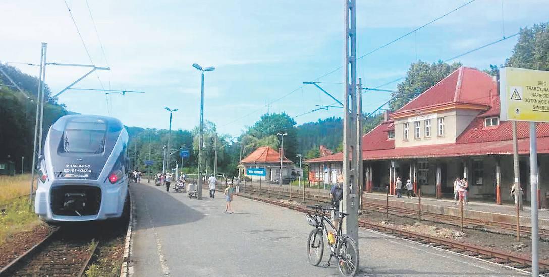 Dzięki nowemu połączeniu pociągiem do Wisły i Ustronia będą mogli dojechać mieszkańcy m.in. Knurowa, Rybnika i Żor